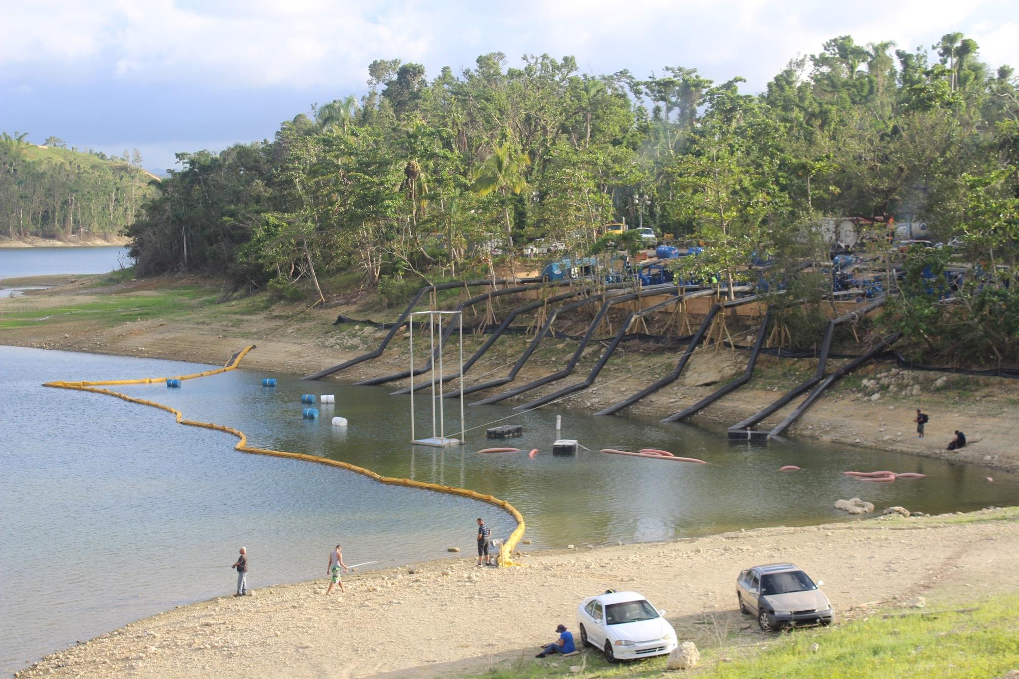 Draining Lake Guatajaca