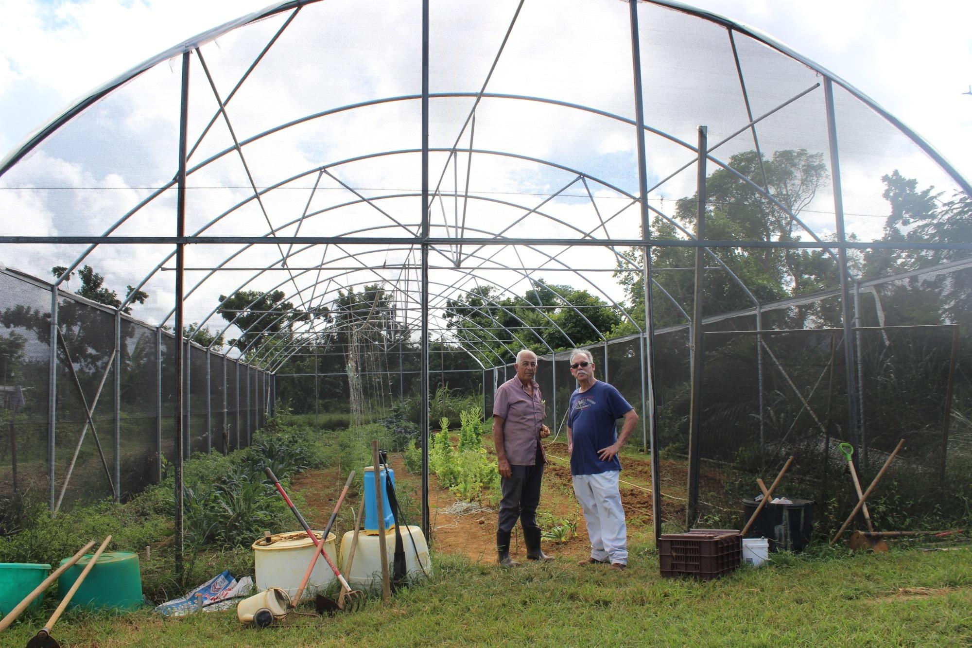 Greenhouse Repairs for Finca Mi Casa