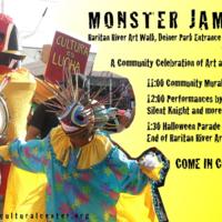 Monster Jam 2k9 Flyer