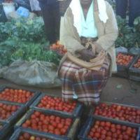 Women at the Domboshava Showgrounds Market