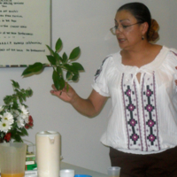 Herbal Healing Presenter Angela Lugo