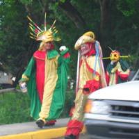 Fiesta - Vejigante and Saint James