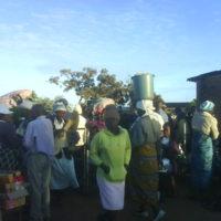 Domboshava Showgrounds Market - Entrance