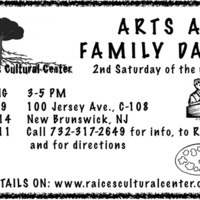 Arts and Family Days: Spring 2011 Program Flyer