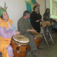 Arts and Family Day: Family Bomba with Vejigante