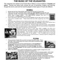 The Music of The Vejigantes