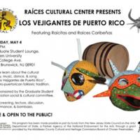 """""""Los Vejigantes de Puerto Rico"""" Program Flyer"""