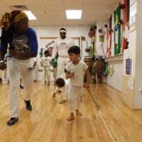 Training Capoeira with Professora Amazonas