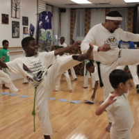 Training Capoeira with Cavalo