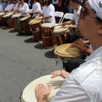 Bomba drums