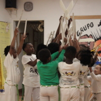 Grupo Liberdade de Capoeira Children's Class - Maculélé