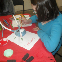 Arts and Family Day: Vejigante Mask Making