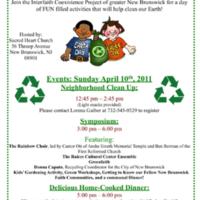 Interfaith Earth Day Celebration Flyer
