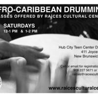 Drumming Class Flyer