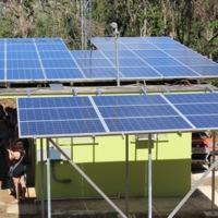 Solar Panels at Radio Casa Pueblo
